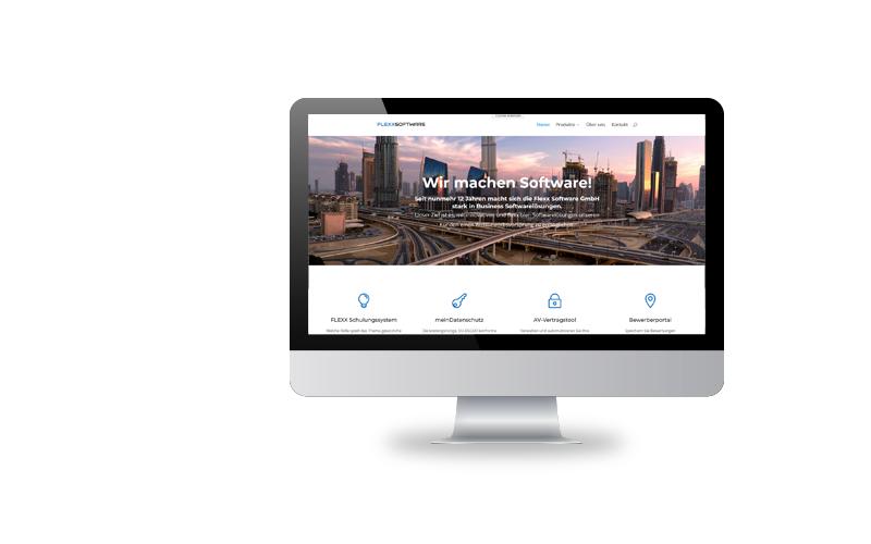 Responsive Webdesign, Konzeption, RealisierungFLEXXSOFTWARE GmbH