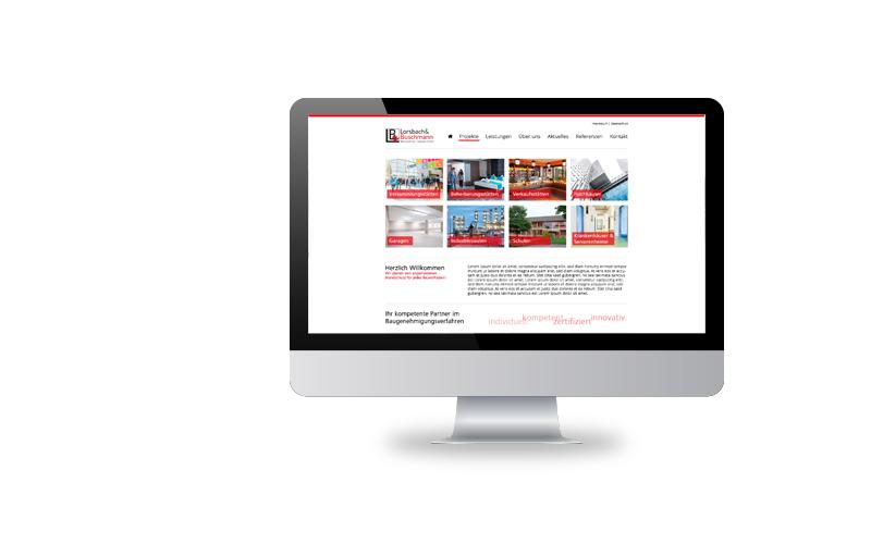 Responsive Webdesign, Konzeption, RealisierungLorsbach + Buschmann Brandschutz GmbH