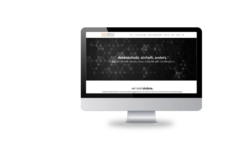 Responsive Webdesign, Konzeption, Realisierungsicdata Unternehmensberatung